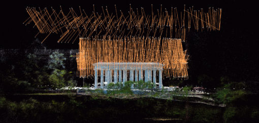 Одесса, Бельведер, 3D сканирование, арт колоннада